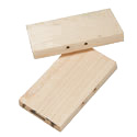 Hardwood Body Grip Pans 110/120 size
