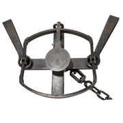 #4 1/2 Sleepy Creek Double Long Spring Trap (Offset Jaws) - SINGLE