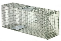 "Safeguard 51690 Cage Trap  30"" x  11"" x 12"" - Front Release : 10"