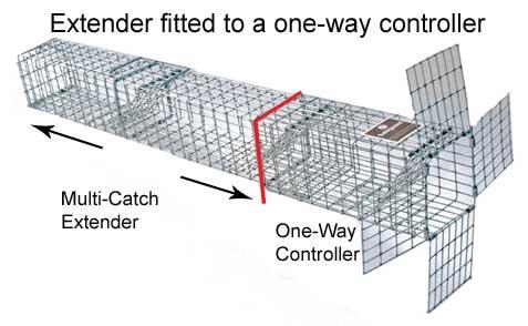 Safeguard 53820 Multi Catch Extender   Small