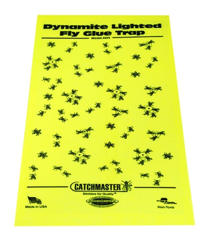 Replacement Glue Boards For Catchmaster 911 Dynamite Black