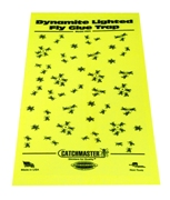 Replacement glue boards for Catchmaster 911 Dynamite Black Light Fly Trap - 25 Boards
