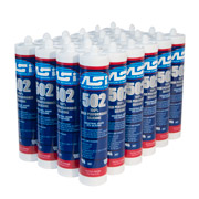 ASI 502 100% RTV Silicone - 10.2 Oz.Tube - Case of 24