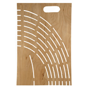 Beaver Board Stencil Pattern - Single
