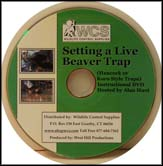 Setting a Live Beaver Trap (DVD)