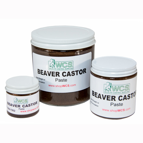 WCS™ Beaver Castor Paste (Ground/Preserved)