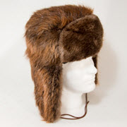 Beaver Fur Trooper (aka Russian) Style Hat