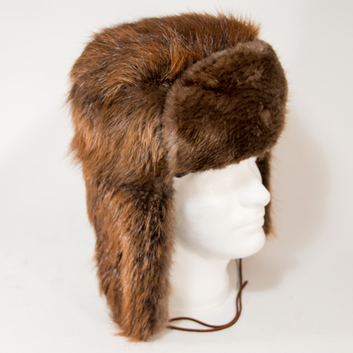 Beaver Fur Trooper Aka Russian Style Hat Wildlife