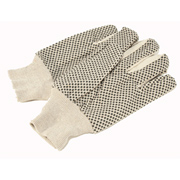 Black Dot White Gloves (Pair)