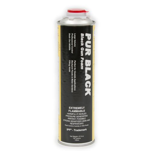 PUR BLACK Foam - Single Can