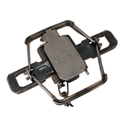 #2 Bridger Dogless Coil Spring Trap (Modified/4-coil/Offset Jaws)