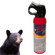 Bear Pepper Spray 8.1 oz. (230g) with Belt Holster