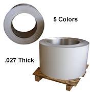 Aluminum Coil Stock (Gutter) 40 lb. rolls