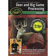 Deer & Big Game Processing DVD, Vol.1