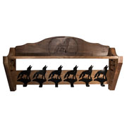 Freedom Brand Coat Rack (Howling Coyote Model)