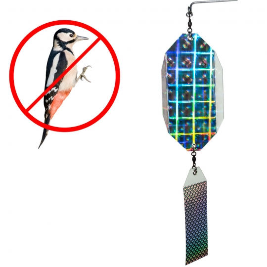 The Intimidator - Woodpecker / Avian Deterrent