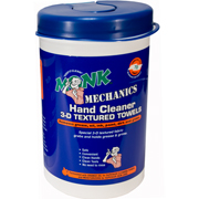 Monk Mechanics 3D Textured Hand Cleaning Towels - SINGLE Canister