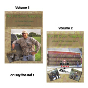 No BS Coon Trapping Videos with Kendall Obermier (DVD)