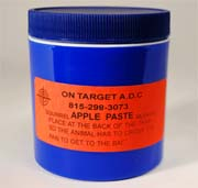 On-Target™ Apple Paste Bait 6 oz.