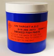 On-Target™ Smoked Fish Paste Bait 6 oz.