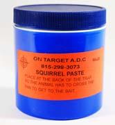 On-Target™ Squirrel Paste Bait 6 oz.