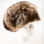 Raccoon Fur Trooper (aka Russian) Style Hat