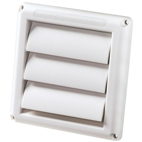 Supurr Vent 174 Louvered Hood For Dryer Vents Single