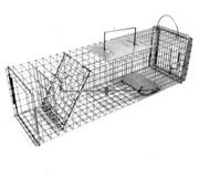 Tomahawk Model 603F Flush Mount Live Trap w/Easy Release Door - Squirrel/Muskrat Size