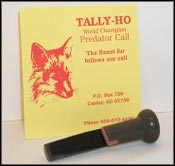 Tally-Ho World Championship Predator Call