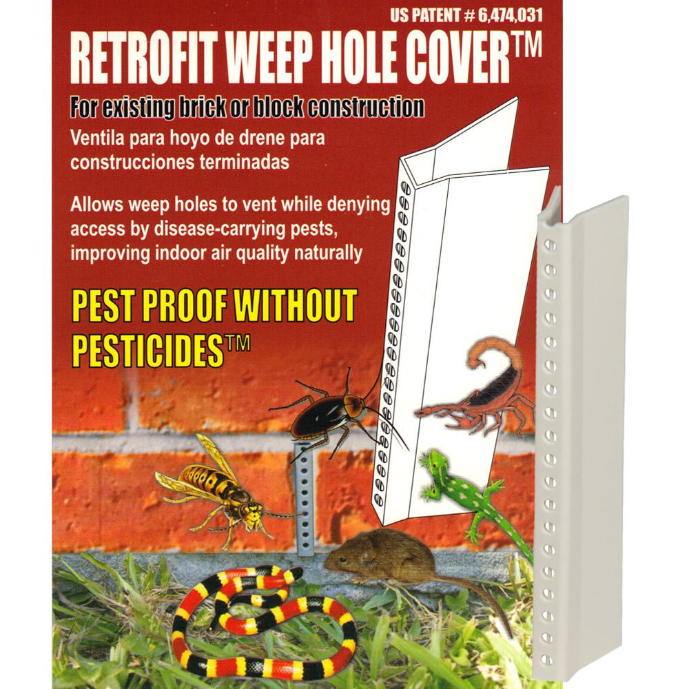Retrofit Weep Hole Vent Cover 25 Wildlife Control