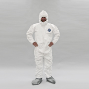 Tyvek Suit  w/Hood & Booties - SINGLE