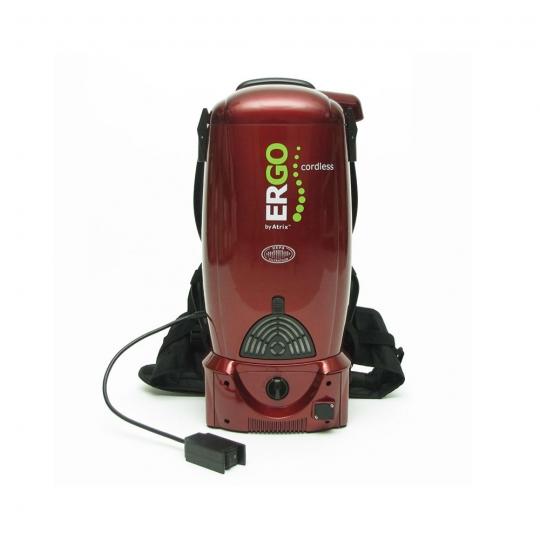 ergo cordless rechargeable battery backpack vacuum wildlife