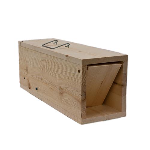 Wcs Wooden Rabbit Trap Wildlife Control Supplies