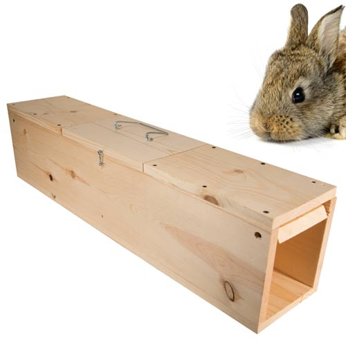 Wcs Wooden Rabbit Trap Wildlife Control Supplies Product Code