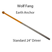 Wolf Fang Earth Anchor Driver - Standard