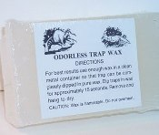 Pure White Odorless Trap Wax