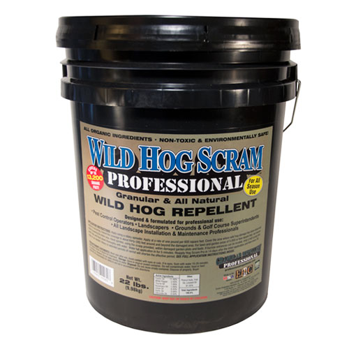 Wild Hog Scram Professional Wild Hog Repellent 22 Lbs