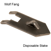 Wolf Fang Disposable Stakes - Points Only
