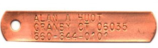 Copper Trap Tags