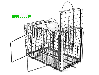 Tomahawk Model 305sq Squeeze Cage For Cat Rabbit Sized