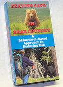 Staying Safe in Bear Country (VHS or DVD)